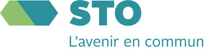 STO logo with signature L'avenir en commun - A future together